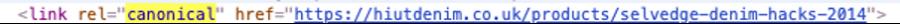 Sửa lỗi trùng lặp nội dung Shopify